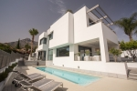 Casa Cubo, a futuristic design in Marbella's Nagueles suburb